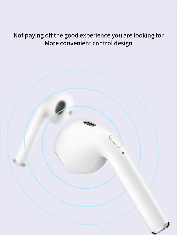 New I10 Tws Wireless I10tws Earbuds Earpiece Mini Bluetooth Headsets  Earphone for All Phones