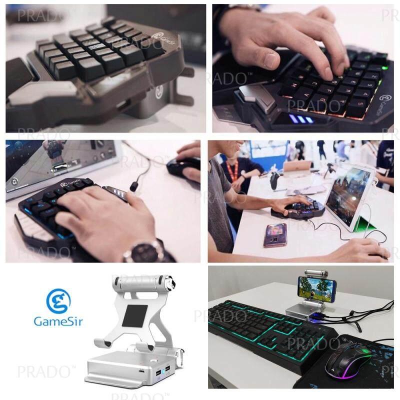 PRADO Malaysia GameSir X1 PUBG Fortnite Mobile Game BattleDock Converter  Stand Phone Holder Console USB
