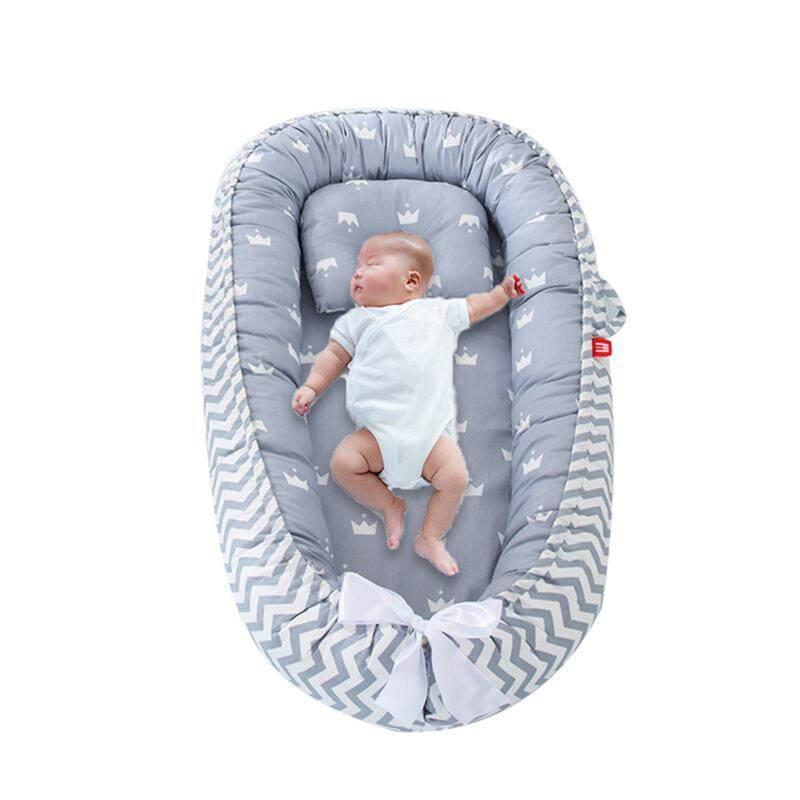 Color 3 BEST.LIV Baby Newborn Lounger,Soft Breathable Newborn Infant Baby Snuggle Nest Baby Nest Sleeper for Bedroom Travel