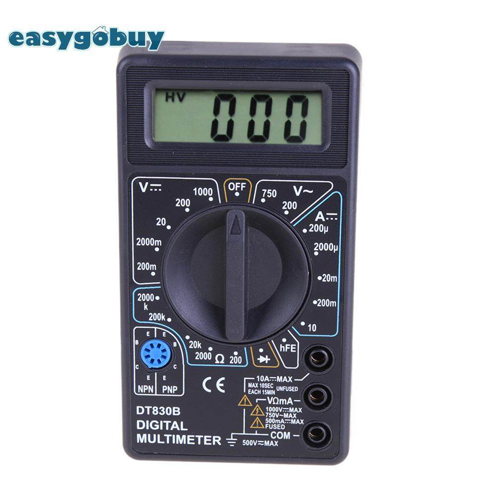 DT-830D LCD Digital Multimeter with Test Leads