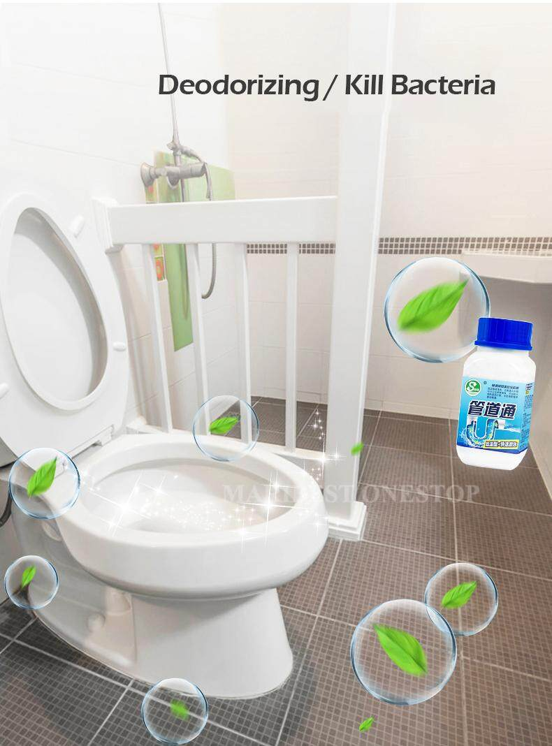 268g Clog Remover Drain Pipe Basin Cleaner Clogged Drainage Remover Powder  Removing Blockage