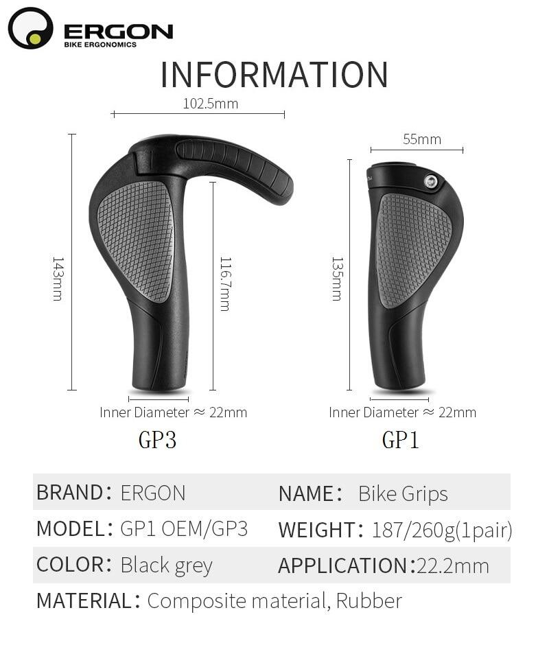 Black 128mm for 22mm Bars Rubber Bicycle Handlebar Grips