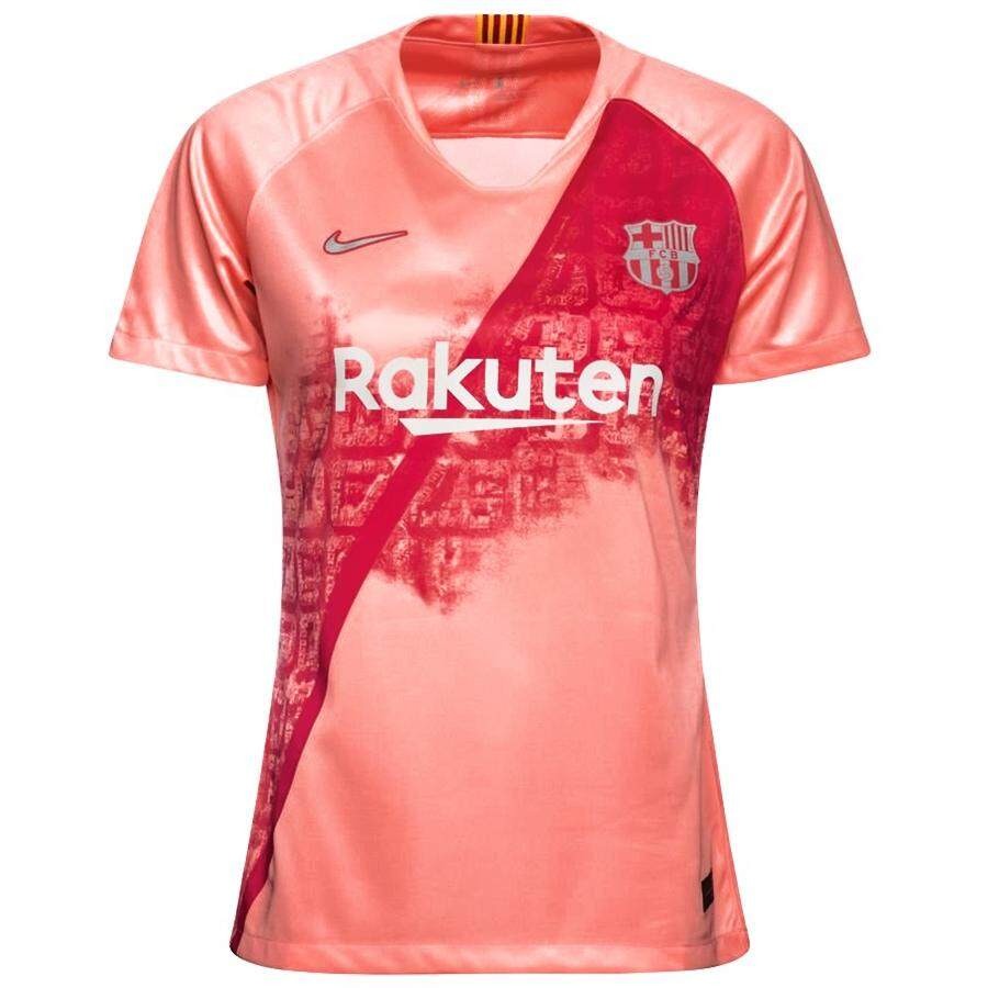 sale retailer bd172 68364 Barcelona 3rd Jersey 2018/19 for Women Spanish Laliga