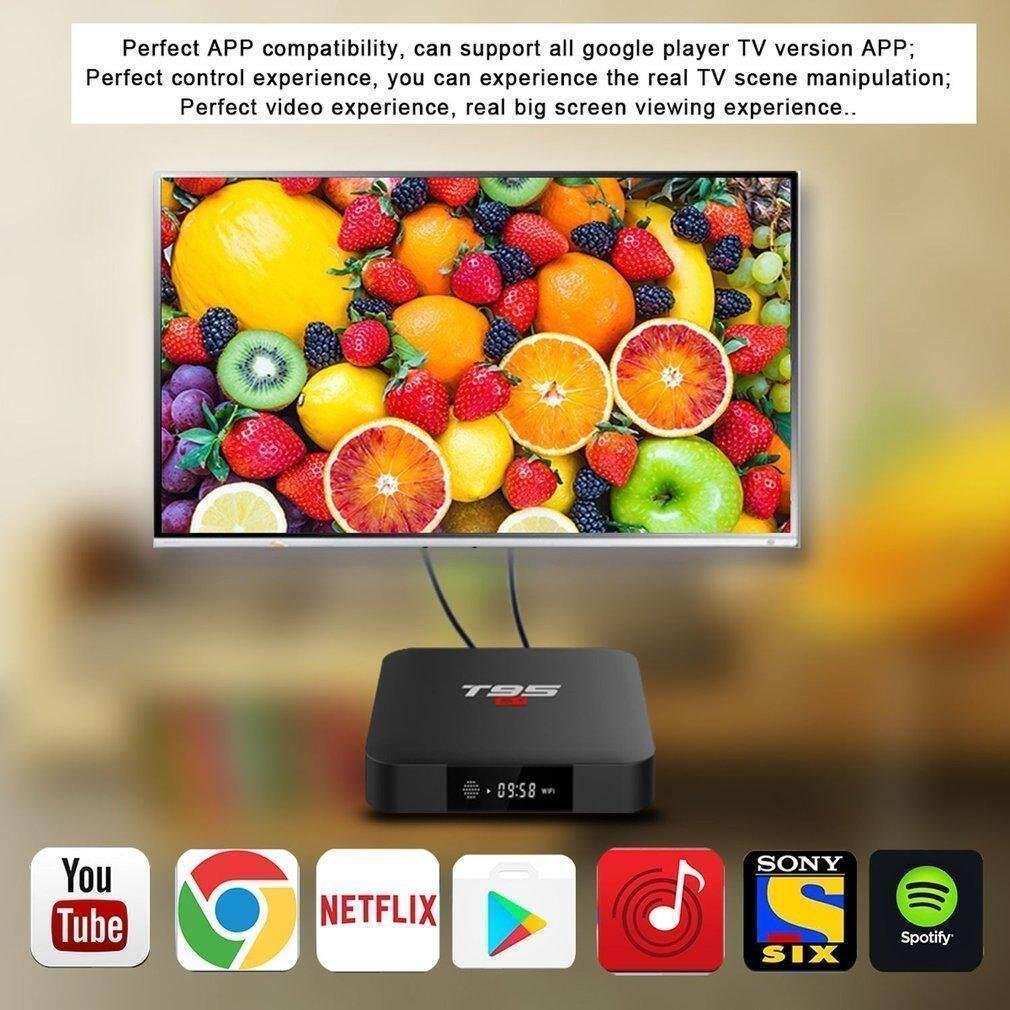 Android 7 1 TV Box T95S1 Smart Internet Amlogic S905W Quad Core 1GB/8GB