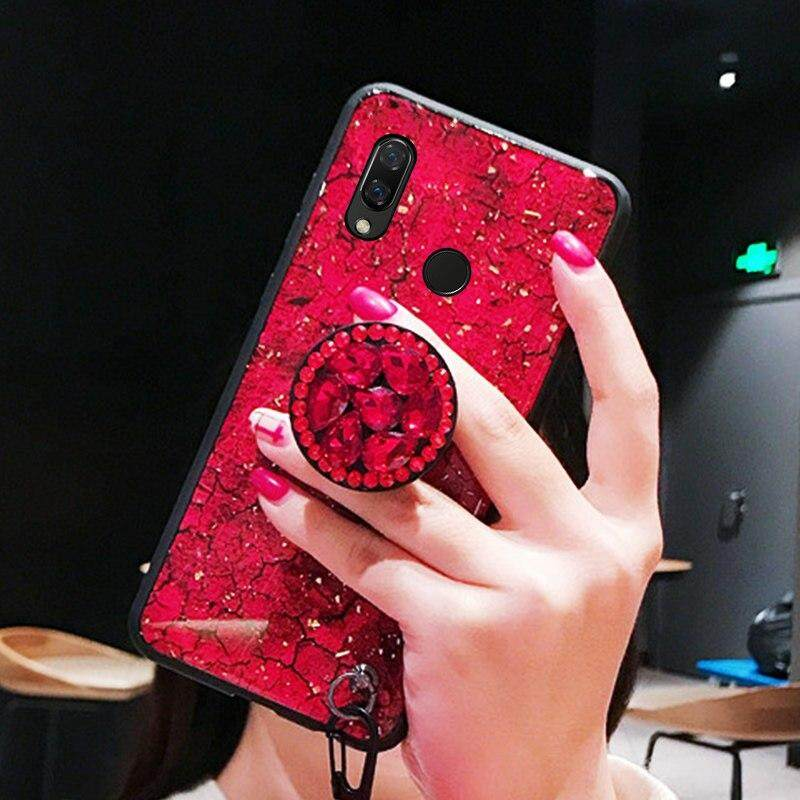 Tfshining Gold Foil Marble Phone Cases For Huawei p20 lite P20 Pro Glitter Cover Pop Stand Case For huawei nova 3 3i 3e Honor (9)