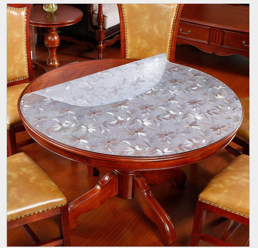 2mm Flower Round Table Protector For