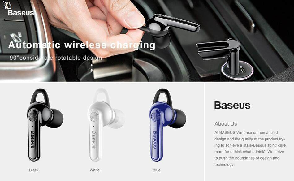 Baseus NGCX-02 Magnetic Bluetooth 4.1 Stereo Headset