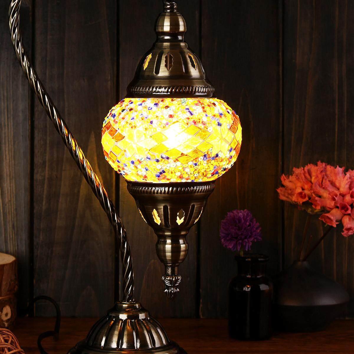 New Special Handmade Mosaic Lamp Authentic Turkish Lamp Moroccan Ottoman Glass Stunning Brass Glass Ottoman Turkish Style