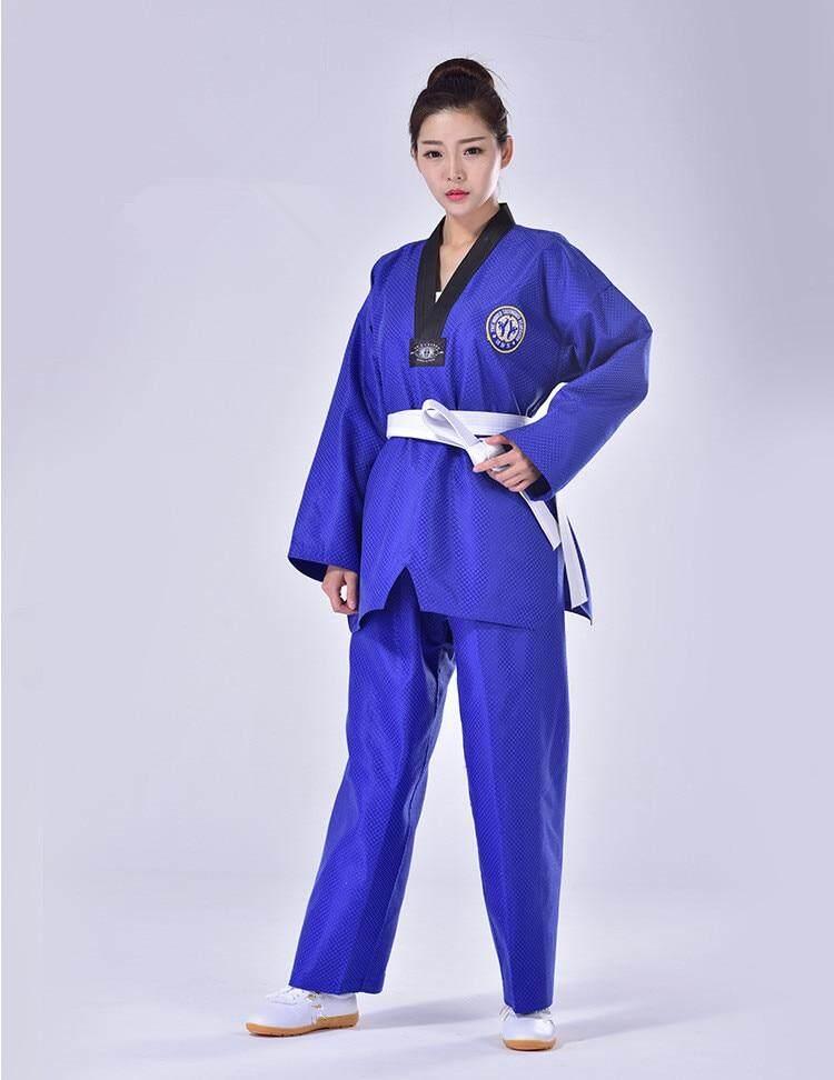 Võ phục Taekwondo Dobok xanh dương - ảnh 7