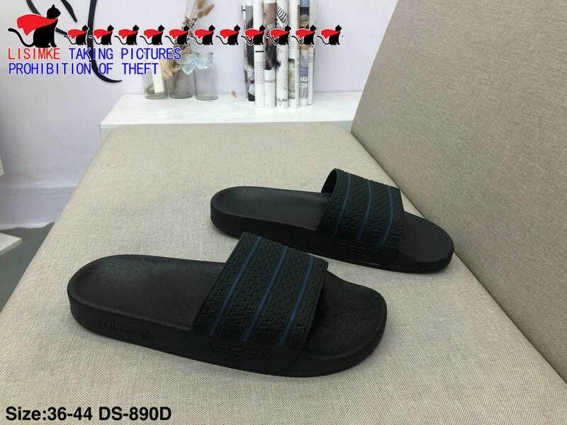 LISIMKE 2017 New Mens Summer Slipper Sandals Shoes-40 Black