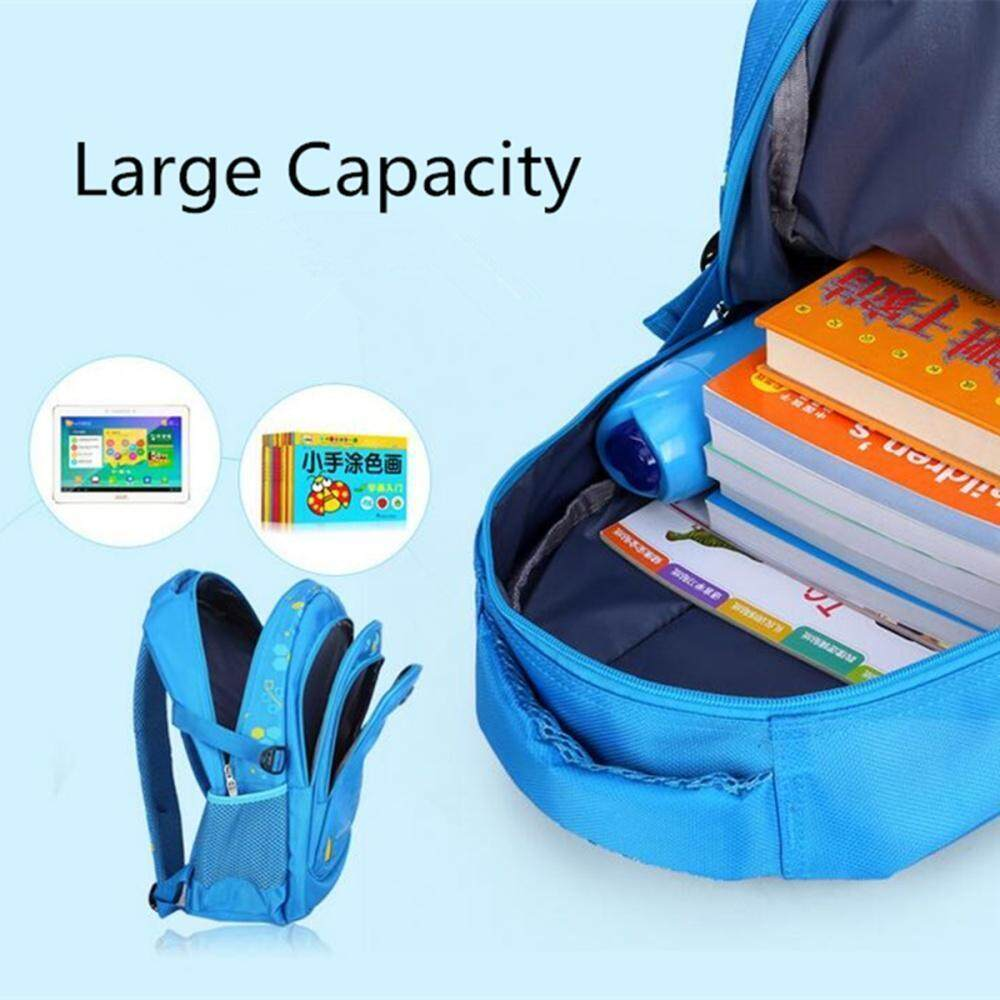 fc38cac526ff Specifications of Kids Nylon Large Backpack Children School Bag for Middle  Primary School Student Light Blue
