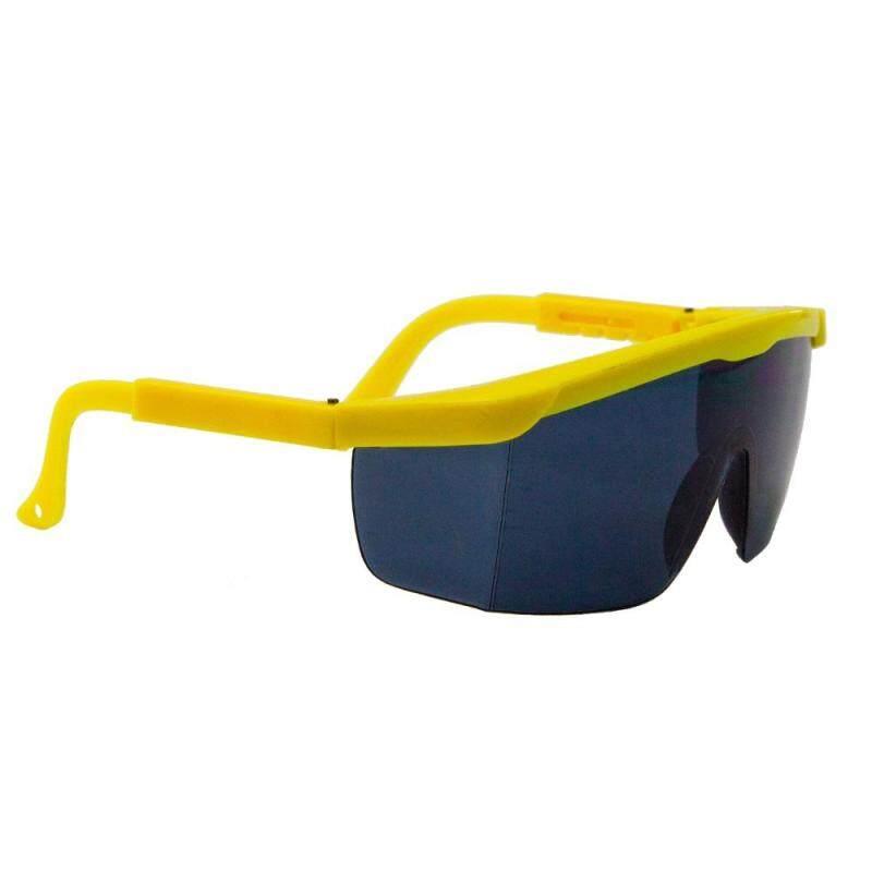 10 Pair 380B Safety Eyewear Smoke Grey Yellow Frame Malaysia