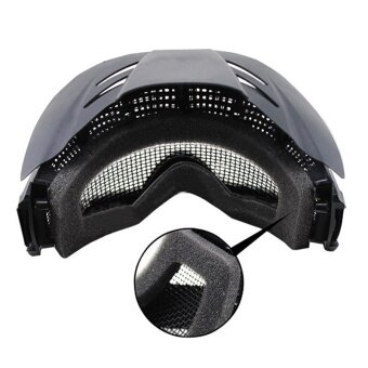 1PC Tactical Motorcycle Goggles Mesh PC Lens Bullet-proofProtection Glasses - 3 .