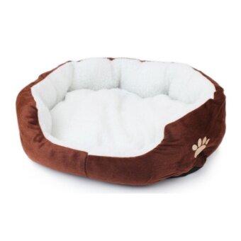 1STOP Premium Pet Bed 60cm x 50cm - Brown