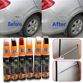 2017 12ML 6Colors Car Repair Pen Car Paint Scratch Repair RemoverTouch Pen