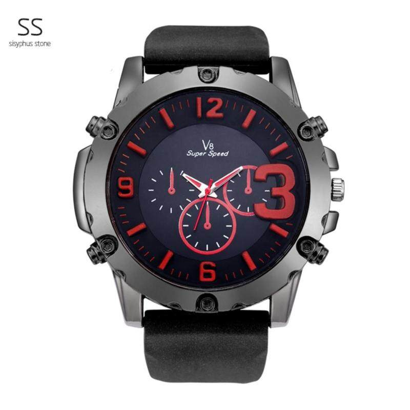 2017 NEW Casual Original Brand Mens Running tennies Sports Waterproof Leather Strap fashion Wrist Watch For Men Malaysia