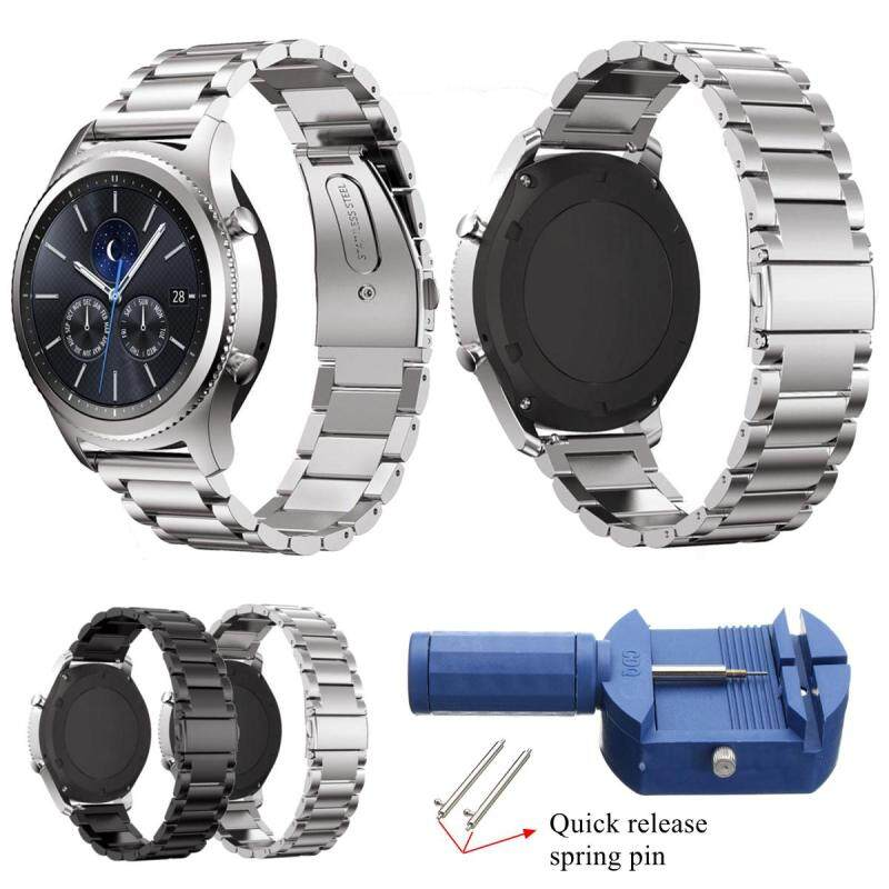 22mm Stainless Steel Wrist Watch Band Strap For Samsung Gear S3 Classic/Frontier Malaysia