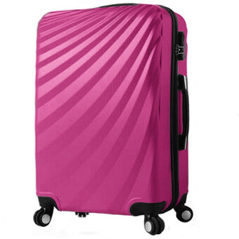 24 Inch Streamer Hard Suitcase Pink | Lazada Malaysia