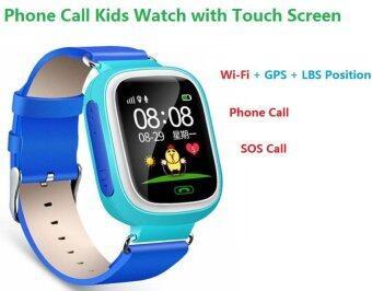 Harga 2Cool Kids Smart Watch with Touch Screen Phone Call WiFi PositionAnti Lose SOS GPS Tracker Children SmartWatch for iPhone Android
