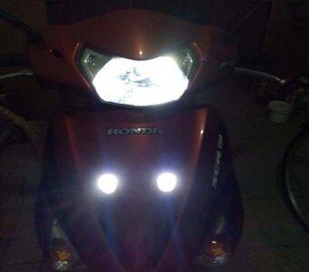 2pcs Car Motorcycle White 12V SMD 5630LED License Plate Stud Screw Bolt Light - 4