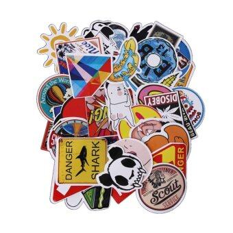50Pcs Gravity Falls Sticker For Car Laptop Luggage SkateboardMotorcycle