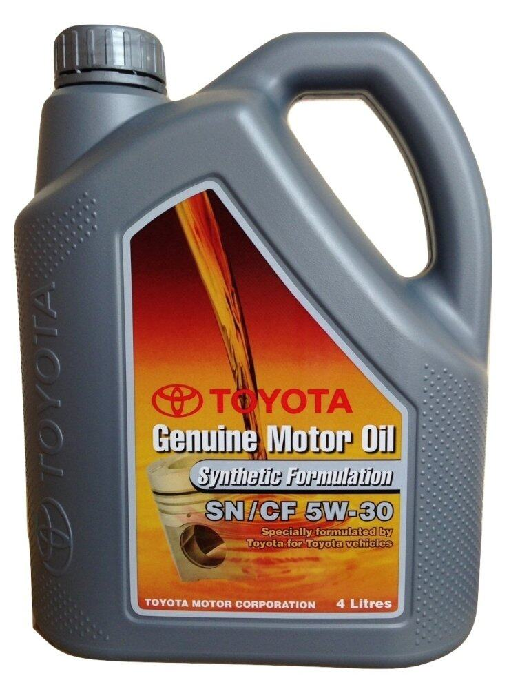 Toyota Genuine Motor Oil Equivalent Of Toyota Genuine Motor Oil Equivalent