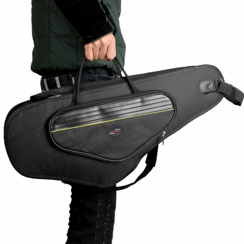 600D Water-resistant Gig Bag Oxford Cloth Backpack Adjustable Shoulder Straps Pocket 5mm Cotton Padded for Alto Sax Saxophone Malaysia