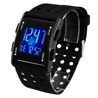 AIDSI MY-0731 Men's Multifunctional Electronic Watch Black
