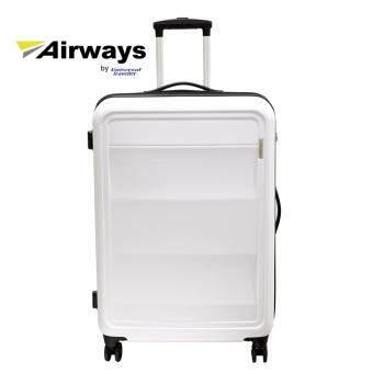 """Airways ATH 5928 28\"""" 8 Wheel Spinner Hardcase White"""