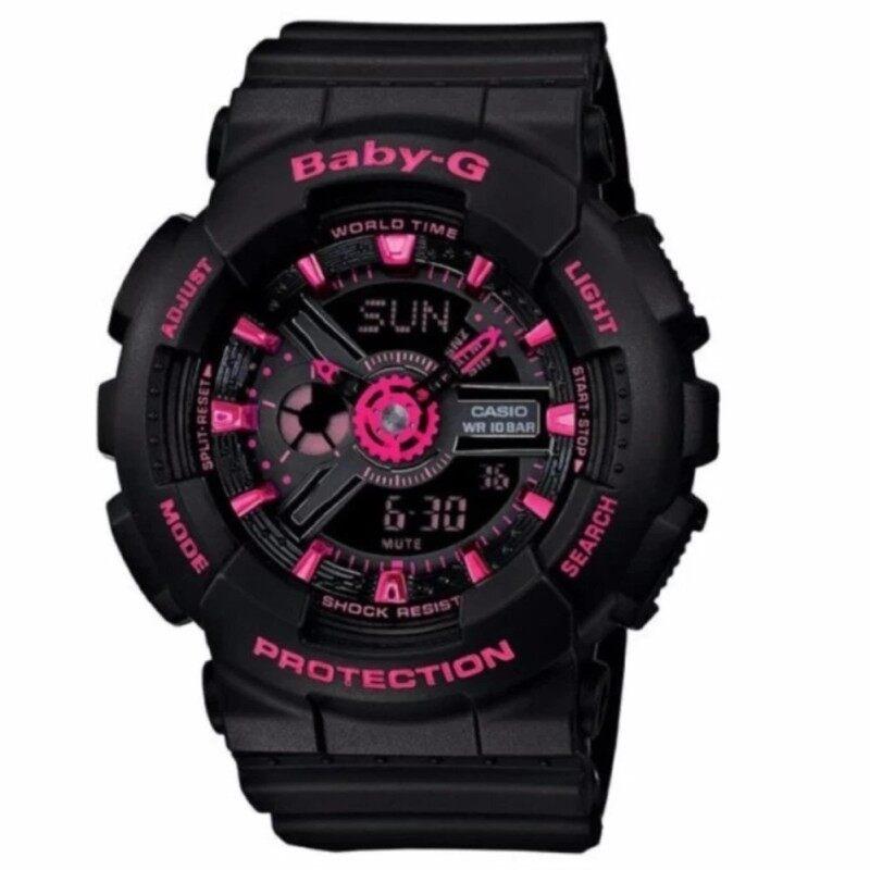 BABY G ANALOG BLACK / PINK WATCH Malaysia