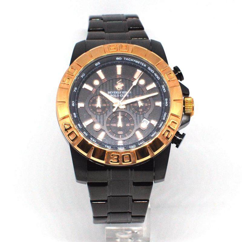 Beverly Hills Polo Club Gents Watch 8020G-BLK-4 Malaysia