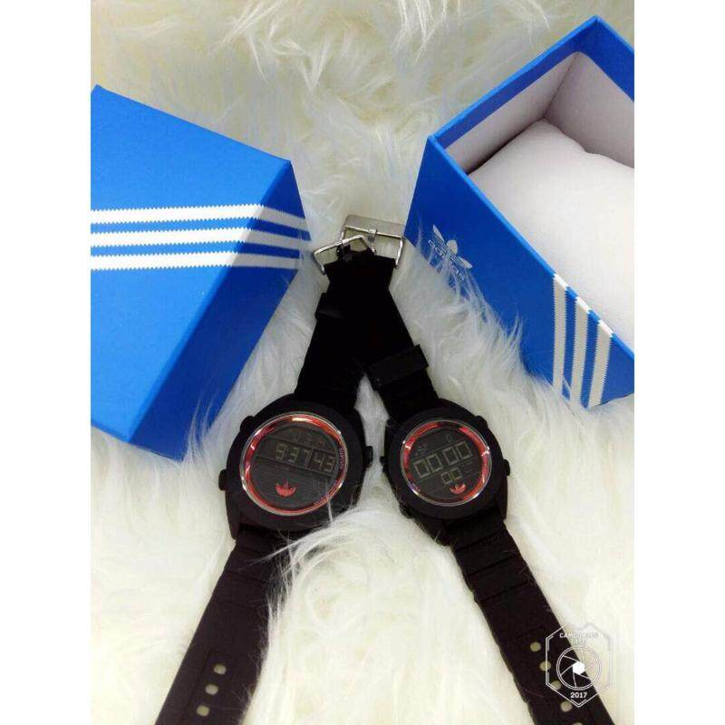 Black Red Couple Watch Adidas Malaysia