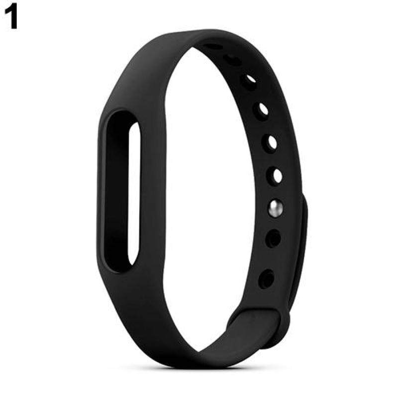 Bluelans® Replacement Silicone Wrist Strap Bracelet Wristband for Xiaomi Mi Band 1 1S (Black) Malaysia