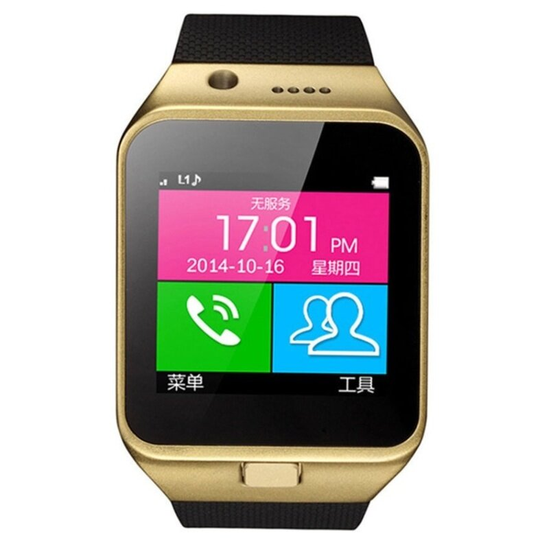 Bluetooth Smart Wrist Watch Phone Mate for Android (Black)  Malaysia