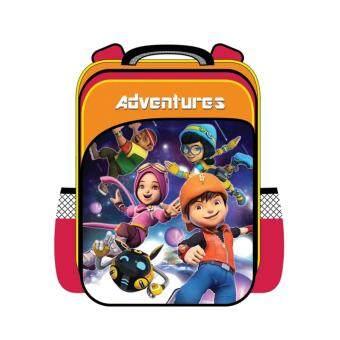 BoBoiBoy Galaxy Pre School Bag - Orange Colour