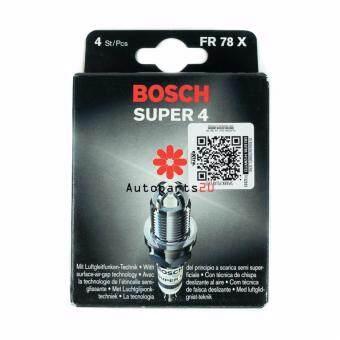 Bosch Super 4 Plug for Proton Waja, Perdana, Satria, Wira 1.6 (4pcs)