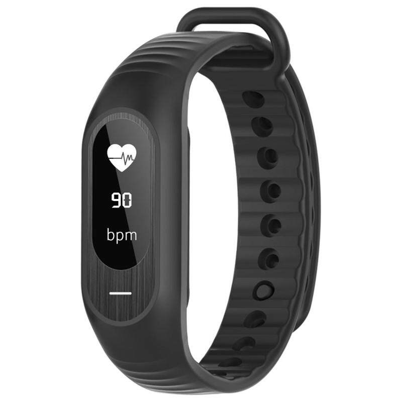 BOZLUN BT4.0 Water-Proof Touch Screen OLED Smart Sports Bracelet Watch Heart Rate/Blood Pressure/Sleep Monitor Pedometer Calorie Fitness Wristwatch for IOS & Android Alarm Distance Anti-Lost + Watch Box Malaysia