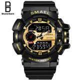 Bruno Dunn luminous Men's watch Fashion sports 30m waterproof watch multi-function led electronic Digital watches for men 1436