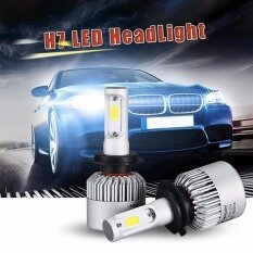 MYR 69 [BUY 1 FREE 1] Pack of 2 COB LED Auto Car Headlight, 160W 16000LM All In One Car LED Headlights Bulb ...