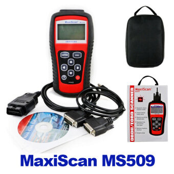 Harga Car Code Reader Autel MS509 OBDII OBD auto OBD2 Scanner Maxiscan MS509 Automotive Diagnostic Tool