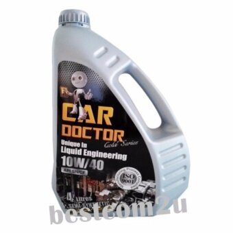 Car Doctor Semi-Synthetic Lubricant 10W-40 Engine Oil (4 litres)