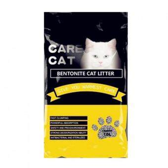 Care Cat Bentonite Cat Litter 10L Lemon x 1