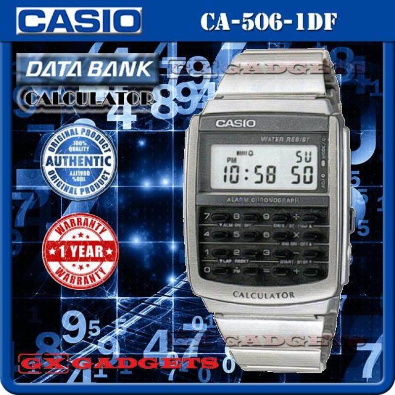 CASIO CA-506-1 DATA BANK STANDARD DIGITAL CALCULATOR WATCH Malaysia