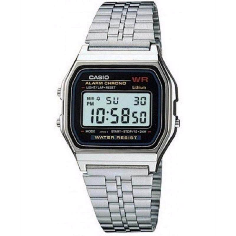 Casio Classic Silver Watch A159 Malaysia