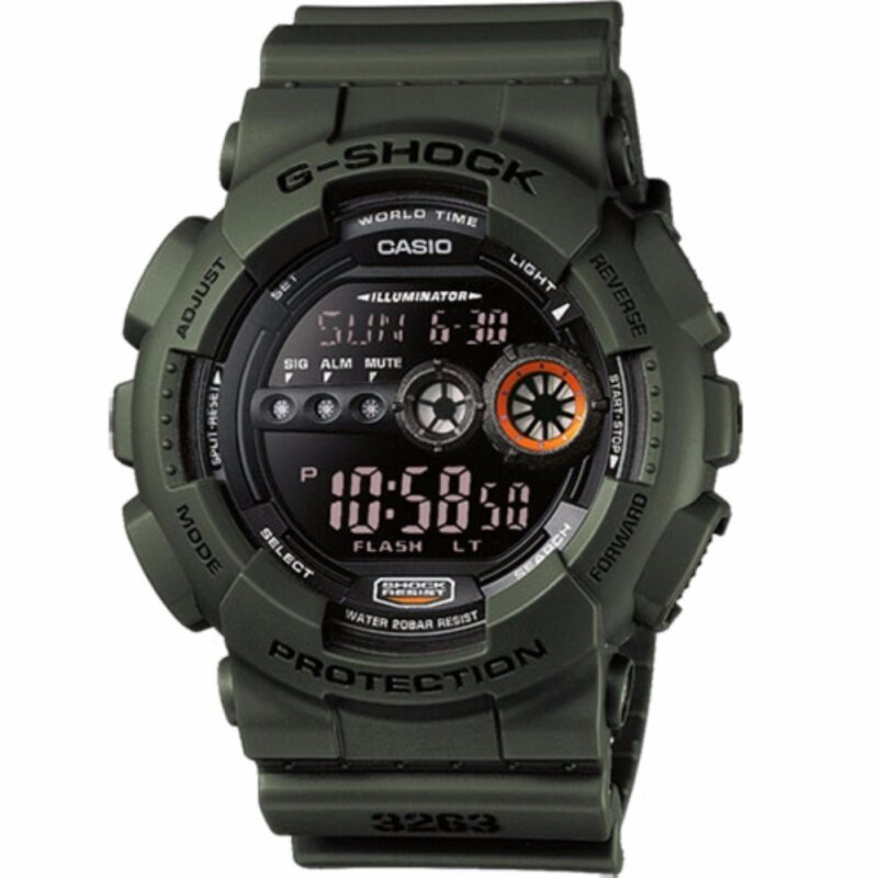 Casio G-Shock GD-100MS-3 Mens Watch Malaysia