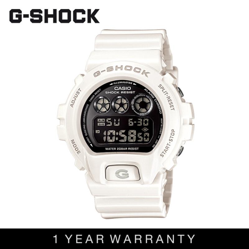 Casio G-Shock Men DW-6900NB-7DR White Sports Resin Watch Malaysia