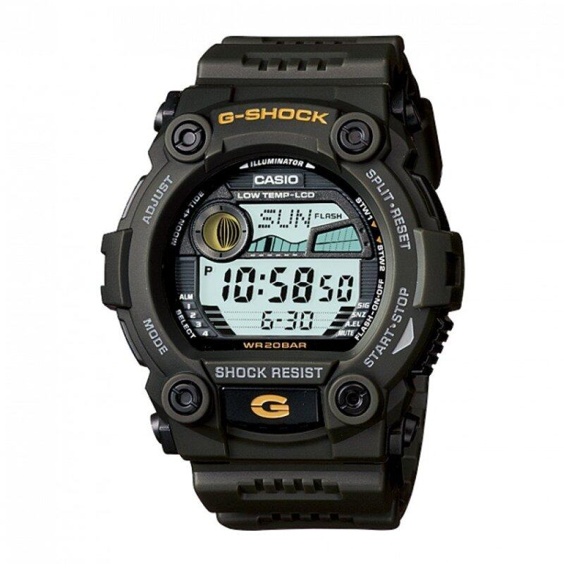 Casio G-Shock Mens Green Resin Strap Watch G-7900-3 Malaysia