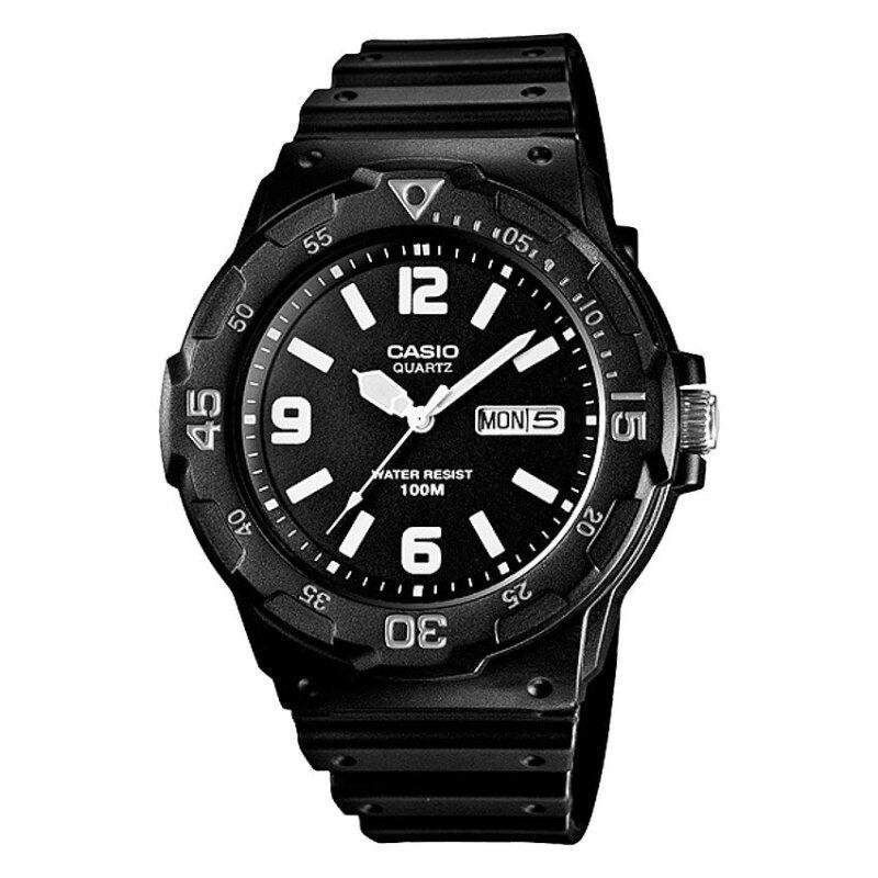 Casio Men Classic Black Resin Strap Watch MRW-200H-1B2VDF Malaysia