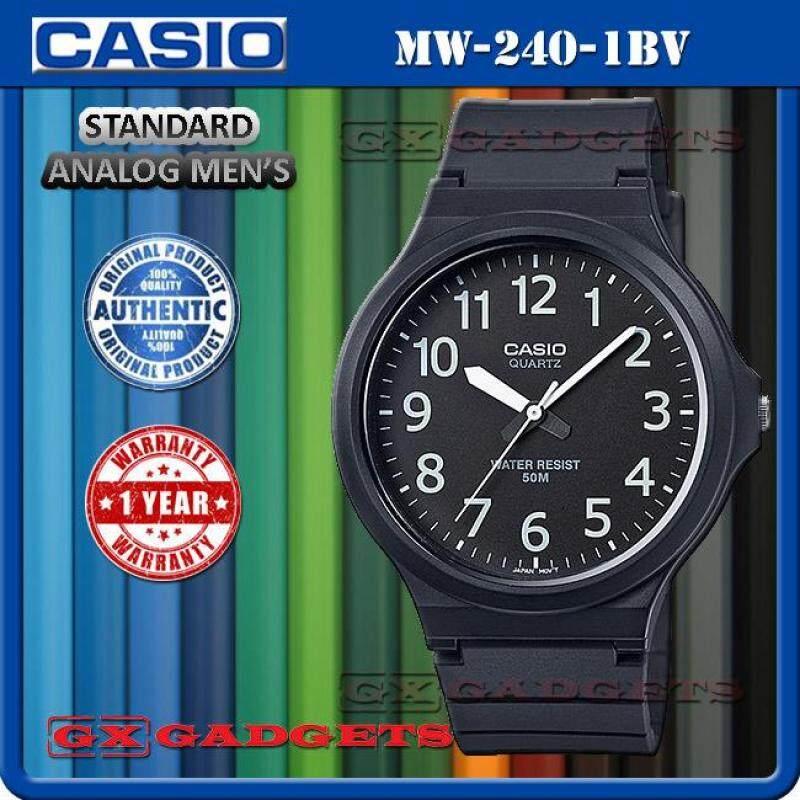 Casio Mw-240-1Bv Standard Analog Mens Watch Large Case Resinband Wr50M Malaysia