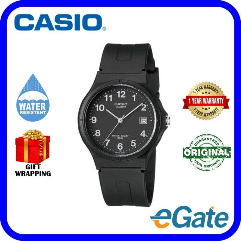Casio MW-59-1B Analog Unisex Watch Black White Casual Original Malaysia